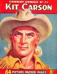Cover Thumbnail for Cowboy Comics (Amalgamated Press, 1950 series) #74