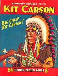 Cover Thumbnail for Cowboy Comics (Amalgamated Press, 1950 series) #78
