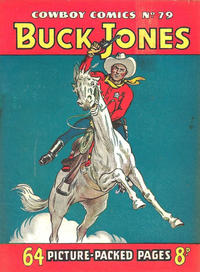 Cover for Cowboy Comics (Amalgamated Press, 1950 series) #79
