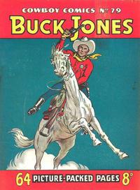 Cover Thumbnail for Cowboy Comics (Amalgamated Press, 1950 series) #79