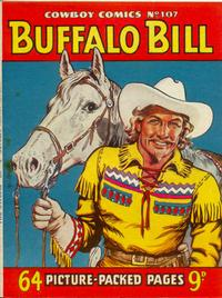 Cover for Cowboy Comics (Amalgamated Press, 1950 series) #107