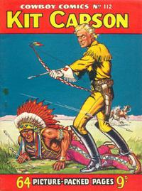 Cover Thumbnail for Cowboy Comics (Amalgamated Press, 1950 series) #112