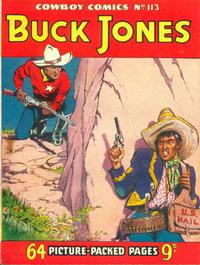 Cover for Cowboy Comics (Amalgamated Press, 1950 series) #113