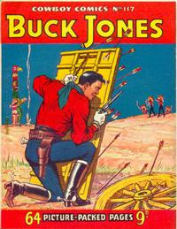 Cover Thumbnail for Cowboy Comics (Amalgamated Press, 1950 series) #117
