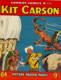 Cover Thumbnail for Cowboy Comics (Amalgamated Press, 1950 series) #131