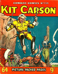 Cover Thumbnail for Cowboy Comics (Amalgamated Press, 1950 series) #139
