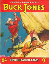 Cover for Cowboy Comics (Amalgamated Press, 1950 series) #153