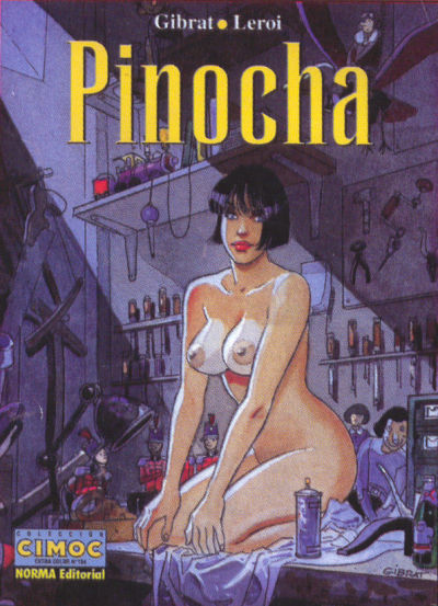 Cover for Cimoc Extra Color (NORMA Editorial, 1981 series) #134