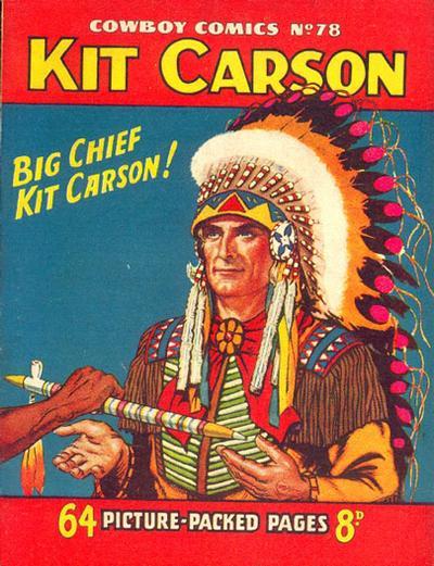 Cover for Cowboy Comics (Amalgamated Press, 1950 series) #78