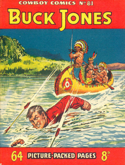 Cover for Cowboy Comics (Amalgamated Press, 1950 series) #81