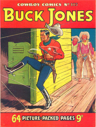 Cover for Cowboy Comics (Amalgamated Press, 1950 series) #103