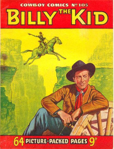 Cover for Cowboy Comics (Amalgamated Press, 1950 series) #105