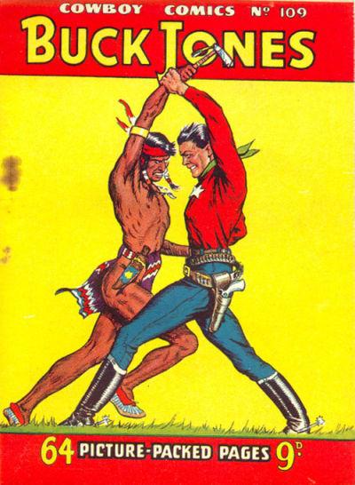 Cover for Cowboy Comics (Amalgamated Press, 1950 series) #109