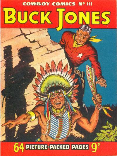 Cover for Cowboy Comics (Amalgamated Press, 1950 series) #111