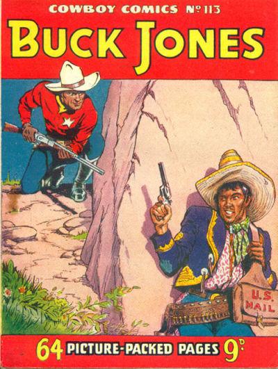 Cover for Cowboy Comics (Amalgamated Press, 1950 series) #113