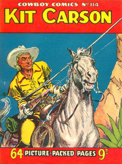 Cover for Cowboy Comics (Amalgamated Press, 1950 series) #114