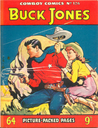 Cover for Cowboy Comics (Amalgamated Press, 1950 series) #126