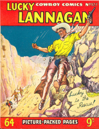 Cover for Cowboy Comics (Amalgamated Press, 1950 series) #127