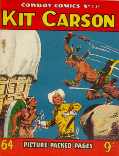 Cover for Cowboy Comics (Amalgamated Press, 1950 series) #131