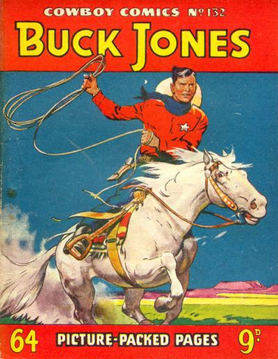 Cover for Cowboy Comics (Amalgamated Press, 1950 series) #132