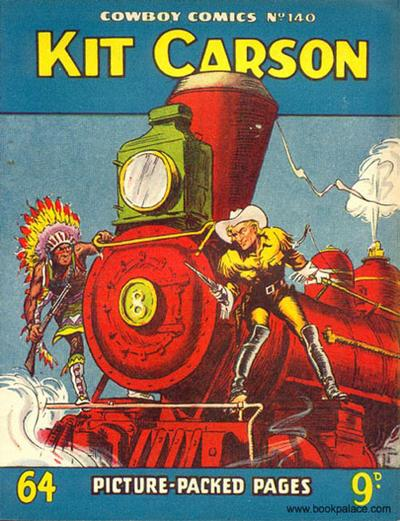 Cover for Cowboy Comics (Amalgamated Press, 1950 series) #140