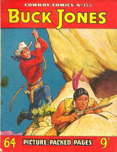 Cover for Cowboy Comics (Amalgamated Press, 1950 series) #153