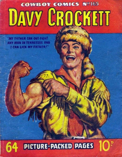 Cover for Cowboy Comics (Amalgamated Press, 1950 series) #165