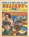 Cover for Valiant and TV21 (IPC, 1971 series) #6th November 1971