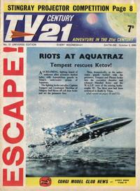 Cover Thumbnail for TV Century 21 (City Magazines; Century 21 Publications, 1965 series) #37