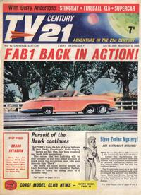 Cover Thumbnail for TV Century 21 (City Magazines; Century 21 Publications, 1965 series) #42