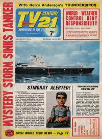 Cover Thumbnail for TV Century 21 (City Magazines; Century 21 Publications, 1965 series) #129