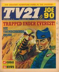 Cover Thumbnail for TV21 & Joe 90 (City Magazines; Century 21 Publications, 1969 series) #18