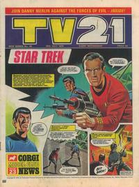 Cover Thumbnail for TV21 (City Magazines, 1970 series) #44