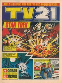 Cover Thumbnail for TV21 (City Magazines, 1970 series) #58