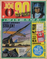 Cover Thumbnail for Joe 90 Top Secret (City Magazines; Century 21 Publications, 1969 series) #2