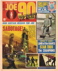 Cover Thumbnail for Joe 90 Top Secret (City Magazines; Century 21 Publications, 1969 series) #3