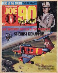 Cover Thumbnail for Joe 90 Top Secret (City Magazines; Century 21 Publications, 1969 series) #4