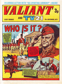 Cover Thumbnail for Valiant and TV21 (IPC, 1971 series) #20th November 1971