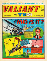 Cover Thumbnail for Valiant and TV21 (IPC, 1971 series) #4th December 1971