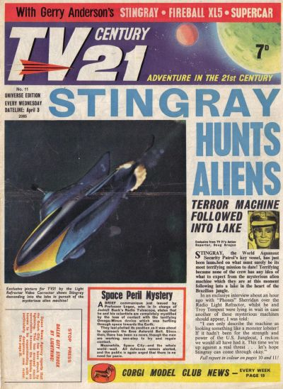 Cover for TV Century 21 (City Magazines; Century 21 Publications, 1965 series) #11