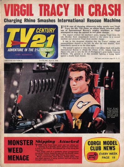 Cover for TV Century 21 (City Magazines; Century 21 Publications, 1965 series) #64