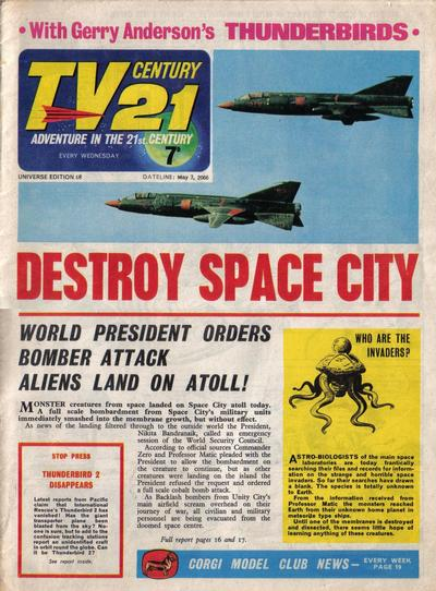 Cover for TV Century 21 (City Magazines; Century 21 Publications, 1965 series) #68