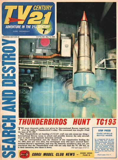 Cover for TV Century 21 (City Magazines; Century 21 Publications, 1965 series) #69