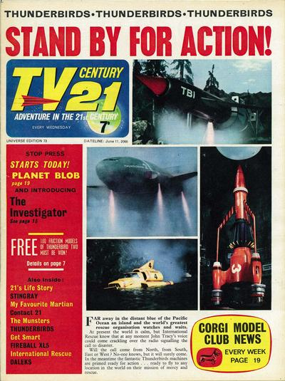 Cover for TV Century 21 (City Magazines; Century 21 Publications, 1965 series) #73