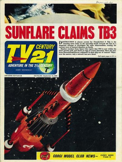 Cover for TV Century 21 (City Magazines; Century 21 Publications, 1965 series) #86