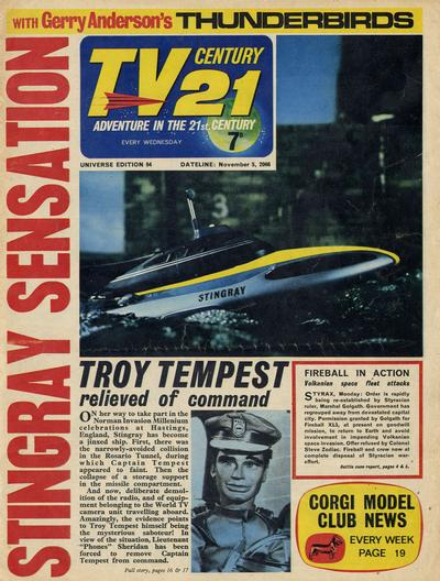 Cover for TV Century 21 (City Magazines; Century 21 Publications, 1965 series) #94