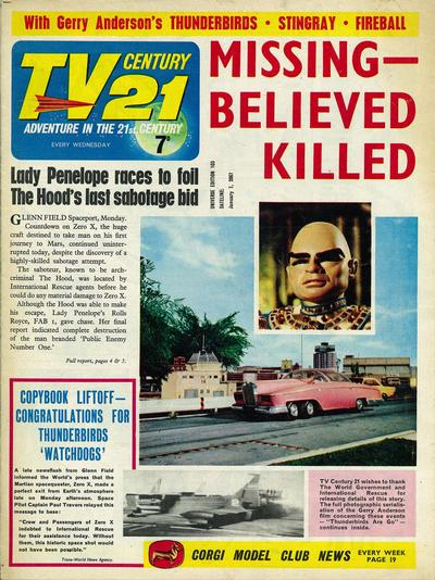 Cover for TV Century 21 (City Magazines; Century 21 Publications, 1965 series) #103