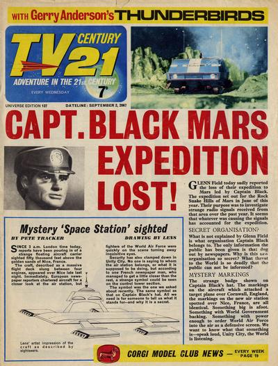 Cover for TV Century 21 (City Magazines; Century 21 Publications, 1965 series) #137