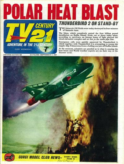 Cover for TV Century 21 (City Magazines; Century 21 Publications, 1965 series) #138