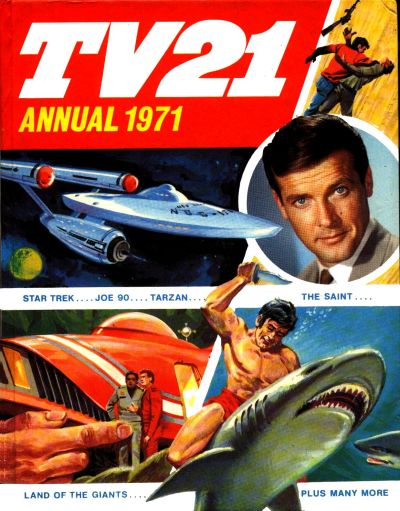 Cover for TV21 Annual (IPC, 1971 series) #1971